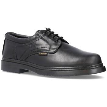 Schoenen Heren Derby Cbp - Conbuenpie Zapatos de cordones de piel by Keelan Noir