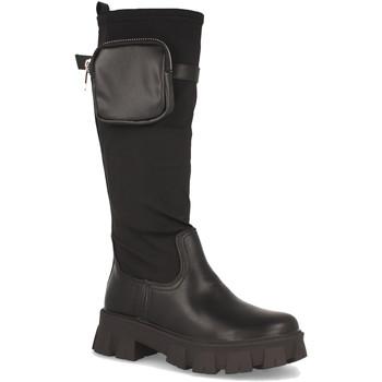 Schoenen Dames Hoge laarzen Milaya 8S10B Negro