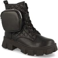 Schoenen Dames Enkellaarzen Milaya 8S12B Negro