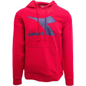 Textiel Heren Sweaters / Sweatshirts Diadora Big Logo Rood