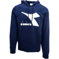Textiel Heren Sweaters / Sweatshirts Diadora Big Logo Blauw