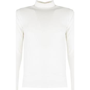 Textiel Heren T-shirts met lange mouwen Xagon Man  Beige