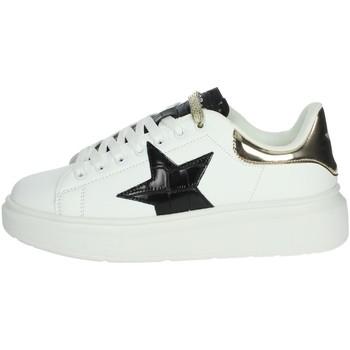 Schoenen Dames Hoge sneakers Shop Art SA80215 White/Black
