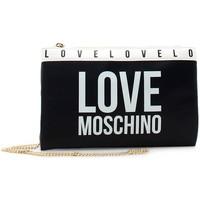 Tassen Dames Schoudertassen met riem Love Moschino JC4185PP1DLI0000 Noir
