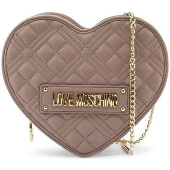Tassen Dames Schoudertassen met riem Love Moschino JC4132PP1DLA0001 Beige