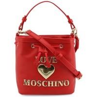 Tassen Dames Handtassen kort hengsel Love Moschino JC4058PP1DLF0500 Rouge