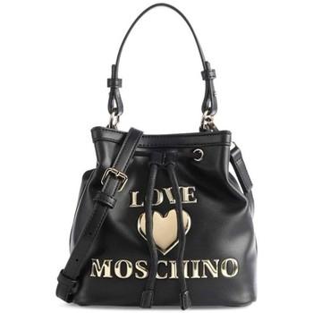 Tassen Dames Handtassen kort hengsel Love Moschino JC4058PP1DLF0000 Noir