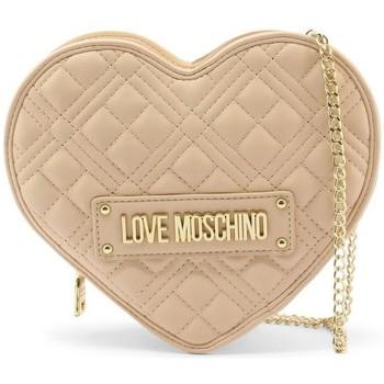 Tassen Dames Schoudertassen met riem Love Moschino JC4132PP1DLA0107 Beige
