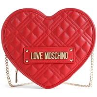 Tassen Dames Schoudertassen met riem Love Moschino JC4132PP1DLA0500 Rouge