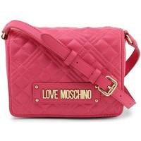 Tassen Dames Schoudertassen met riem Love Moschino JC4002PP1CLA0604 Rose