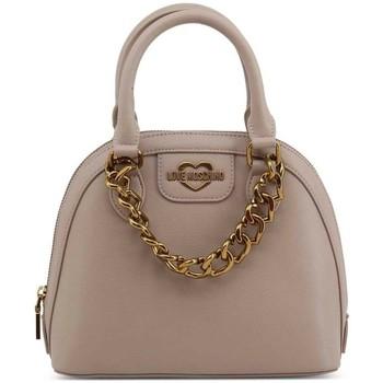 Tassen Dames Handtassen kort hengsel Love Moschino JC4094PP1BLO0001 Beige