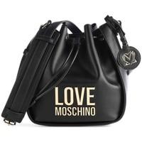 Tassen Dames Handtassen lang hengsel Love Moschino JC4103PP1DLJ000A Noir