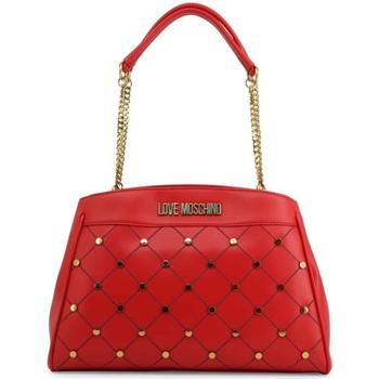 Tassen Dames Handtassen kort hengsel Love Moschino JC4095PP1ALP0500 Rouge