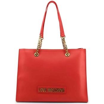 Tassen Dames Handtassen kort hengsel Love Moschino JC4066PP1BLK0500 Rouge