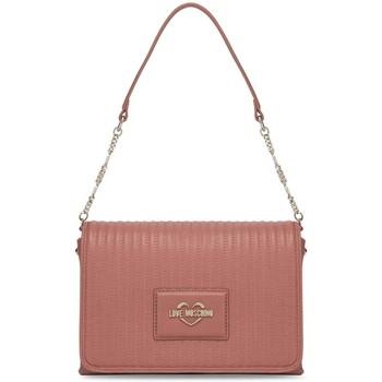 Tassen Dames Handtassen kort hengsel Love Moschino JC4139PP1DLB0611 Rose