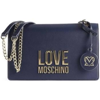 Tassen Dames Schoudertassen met riem Love Moschino JC4099PP1DLJ070A Bleu marine