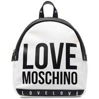 Tassen Dames Rugzakken Love Moschino JC4183PP1DLI0100 Blanc
