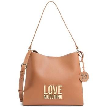 Tassen Dames Handtassen kort hengsel Love Moschino JC4191PP1DLJ020A Beige