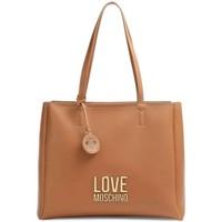 Tassen Dames Handtassen kort hengsel Love Moschino JC4100PP1DLJ020A Beige