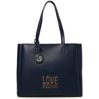 Tassen Dames Handtassen kort hengsel Love Moschino JC4100PP1DLJ070A Bleu marine