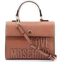 Tassen Dames Handtassen kort hengsel Love Moschino JC4177PP1DLH0611 Rose