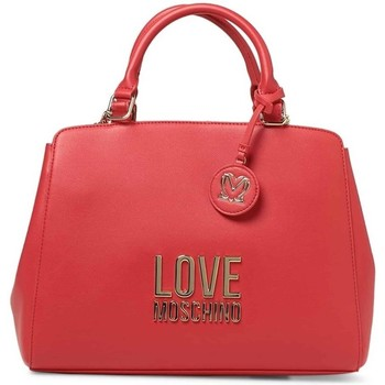Tassen Dames Handtassen kort hengsel Love Moschino JC4192PP1DLJ050A Rouge
