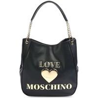 Tassen Dames Handtassen kort hengsel Love Moschino JC4169PP1DLF0000 Noir