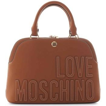Tassen Dames Handtassen kort hengsel Love Moschino JC4176PP1DLH0200 Marron