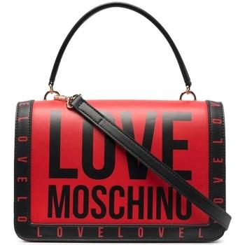 Tassen Dames Handtassen kort hengsel Love Moschino JC4181PP1DLI0500 Rouge