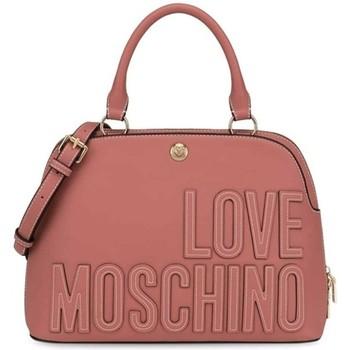 Tassen Dames Handtassen kort hengsel Love Moschino JC4176PP1DLH0611 Rose