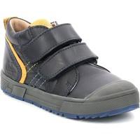 Schoenen Kinderen Hoge sneakers Aster Chaussures enfant  Biboc bleu marine