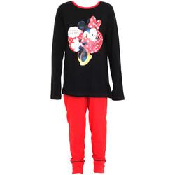 Textiel Meisjes Pyjama's / nachthemden Disney  Zwart/Rood