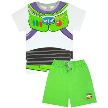 Textiel Jongens Pyjama's / nachthemden Toy Story  Wit/Groen