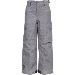 Textiel Kinderen Broeken / Pantalons Trespass  Grijs