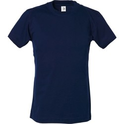 Textiel Jongens T-shirts korte mouwen Tee Jays TJ1100B Marineblauw