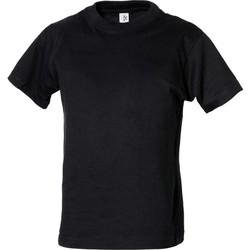 Textiel Jongens T-shirts korte mouwen Tee Jays TJ1100B Zwart