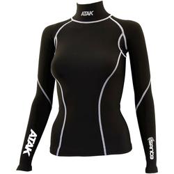 Textiel Dames T-shirts met lange mouwen Atak  Zwart