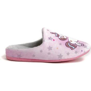 Schoenen Meisjes Sloffen Garzon N4711.246 Roze