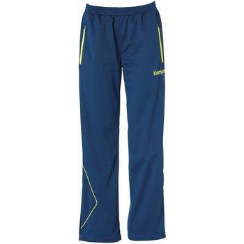 Textiel Dames Broeken / Pantalons Kempa Pantalon Femme Curve Classic bleu/jaune