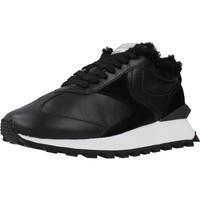 Schoenen Dames Lage sneakers Voile Blanche QWARK FUR Zwart