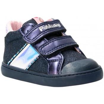 Schoenen Meisjes Hoge sneakers Pablosky 58279 blauw