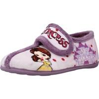 Schoenen Meisjes Sloffen Chispas 65620029 Violet