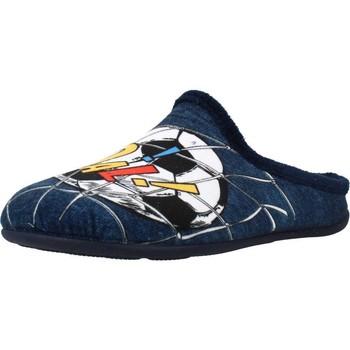 Schoenen Jongens Sloffen Chispas 65700084 Blauw