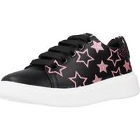 Schoenen Meisjes Lage sneakers Asso AG12503 Zwart
