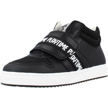 Schoenen Jongens Hoge sneakers Garvalin 211638 Zwart