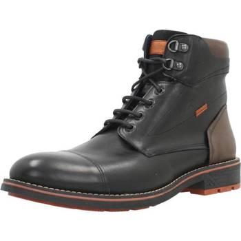 Schoenen Heren Laarzen Fluchos F1342 Zwart