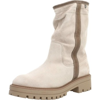 Schoenen Dames Laarzen Porronet 4314P Beige