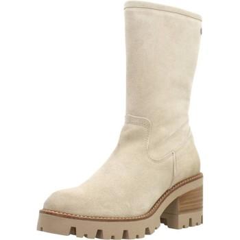 Schoenen Dames Laarzen Porronet 4347P Beige