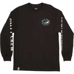 Textiel Heren T-shirts met lange mouwen Salty Crew T-shirt à manches longues  Deadeye Standard noir