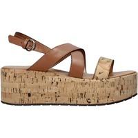 Schoenen Dames Sandalen / Open schoenen Alviero Martini E095 578A Bruin